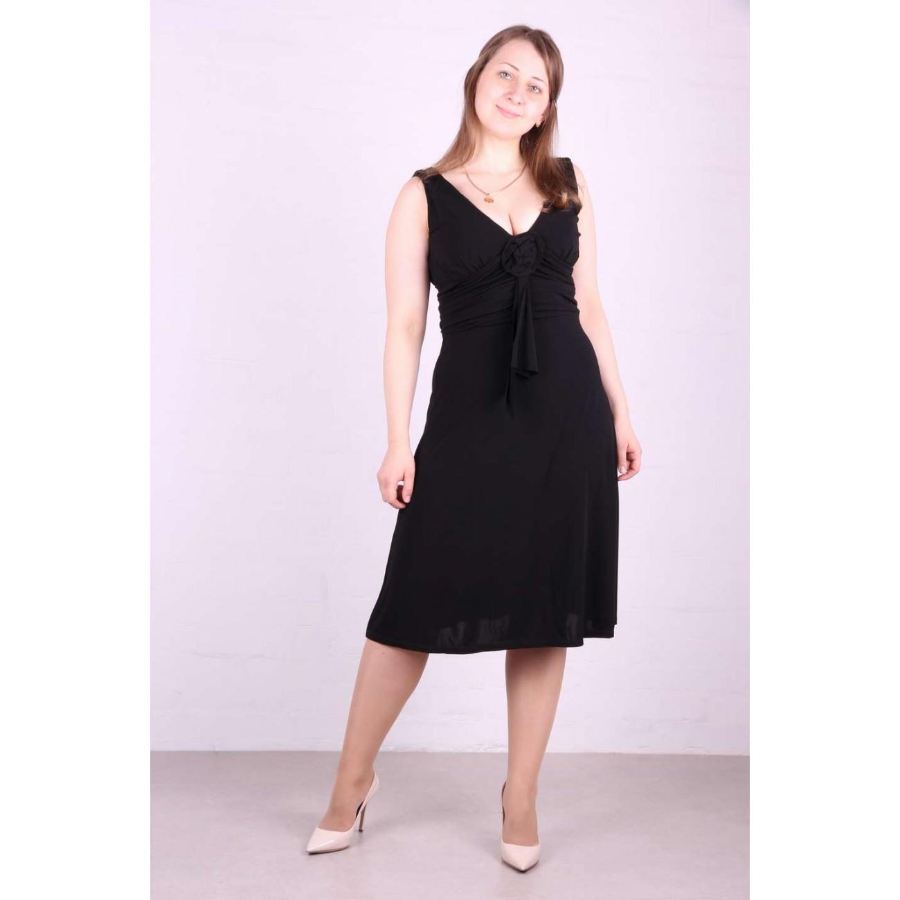 """Платье приталенное,широкая драпировка по линии талии, под грудью """"бант-роза"""""""