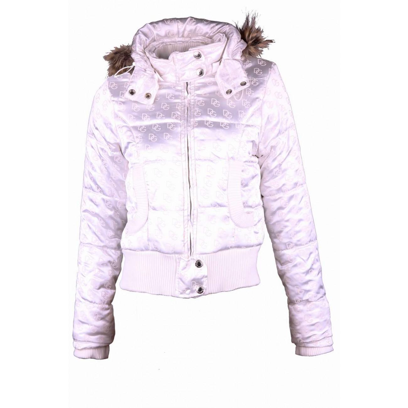 Куртка из атласной ткани с трикотажным манжетом