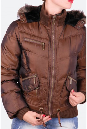 """Куртка стеганная из ткани """"шанжан"""""""